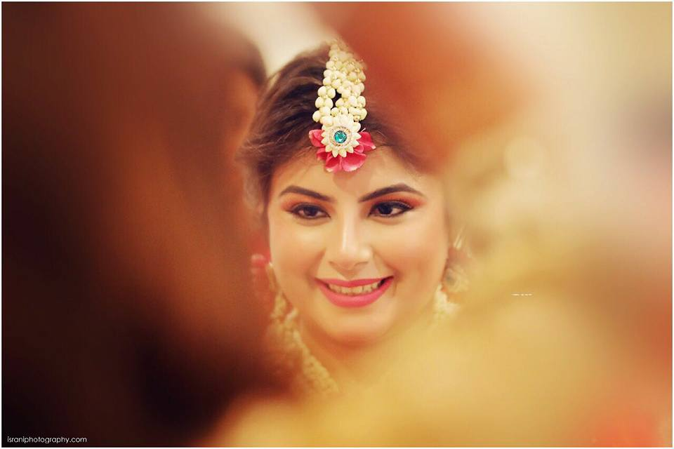 bridal makeup by Saiha