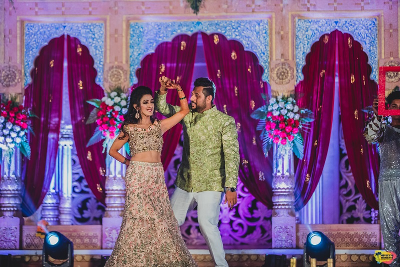 Sangeet event planned by Shaadi Swagers Events