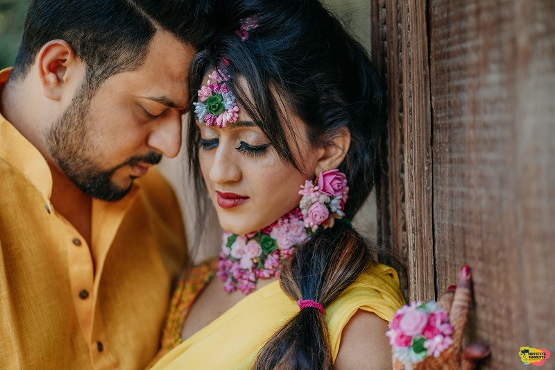Haldi ceremony Ayush resort Panvel wedding