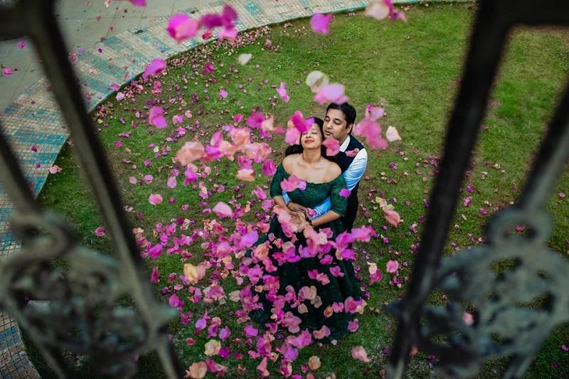 dreamy couples' shoot prewedding shoot