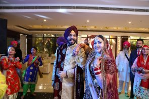 sikh wedding at Radiance Motel Delhi