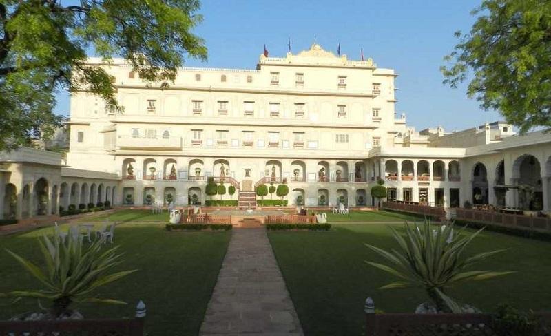 Raj Palace hotel Jaipur for grand Indian wedding