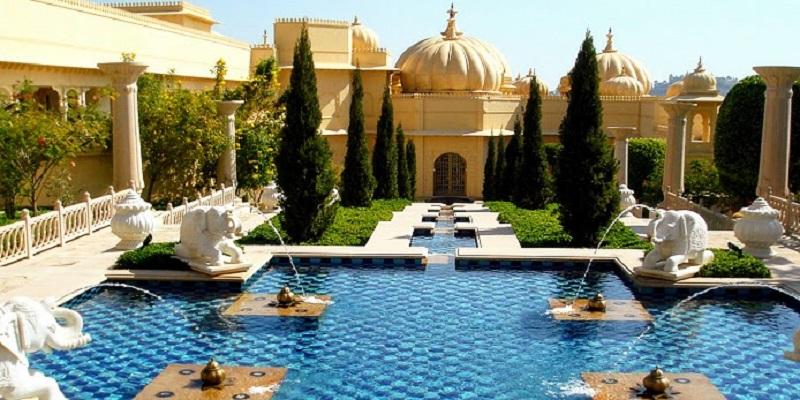 Oberoi_Udaivilas grand hotel for a royal wedding