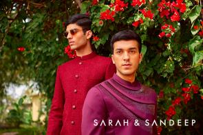 sarah and sandeep groom's collection